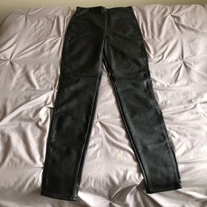 BRAND NEW!Leather pants